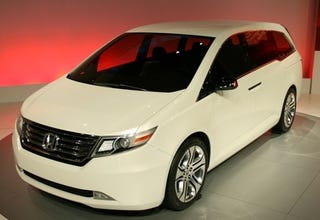 Illustration for article titled The Honda Odyssey Concept Is Plain Vanilla