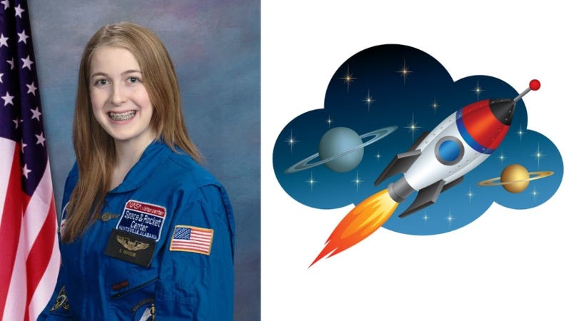 Illustration for article titled Amazing 15-Year-Old Girl Will Probably Be The First Astronaut On Mars