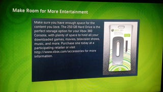 Illustration for article titled 250GB Xbox HDD Out in America Today for $130