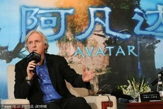 Illustration for article titled Chinese Writer Seeks $146 Million From James Cameron For Plagiarism Suit