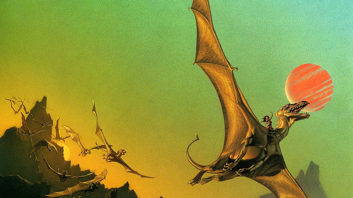 The Dragonriders of Pern  The Best Series We May Never See