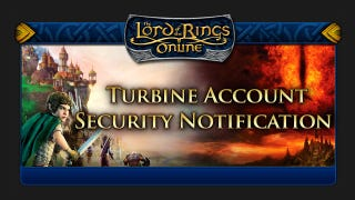 Illustration for article titled Lord of the Rings Online's Forums Might Have Been Hacked