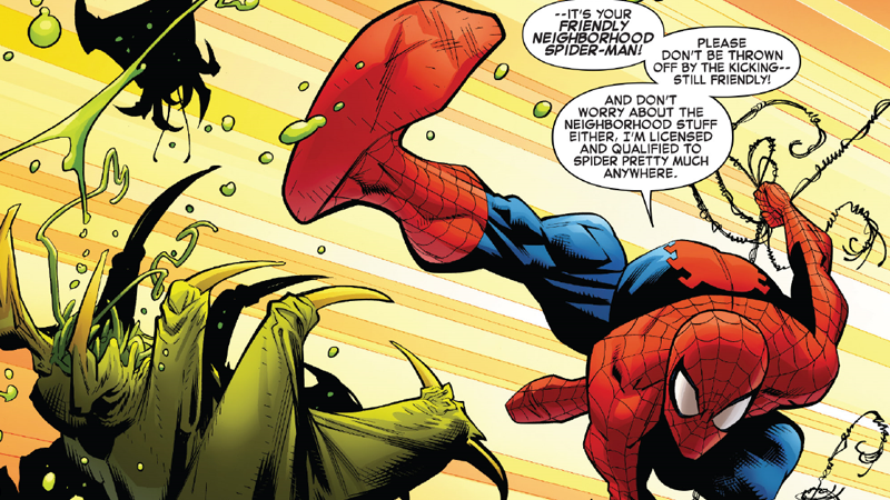 Another thing that's not changed: Peter's love of bad jokes.