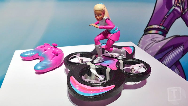Illustration for article titled Even Barbie Has a Hoverboard Now, But Hers Actually Flies