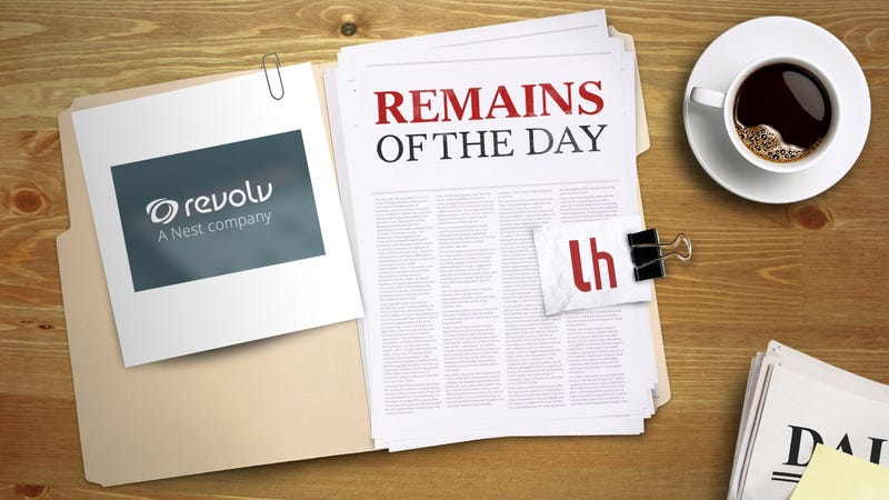 Illustration for article titled Remains of the Day: Nest Is Disabling Revolv Smart Home Hubs