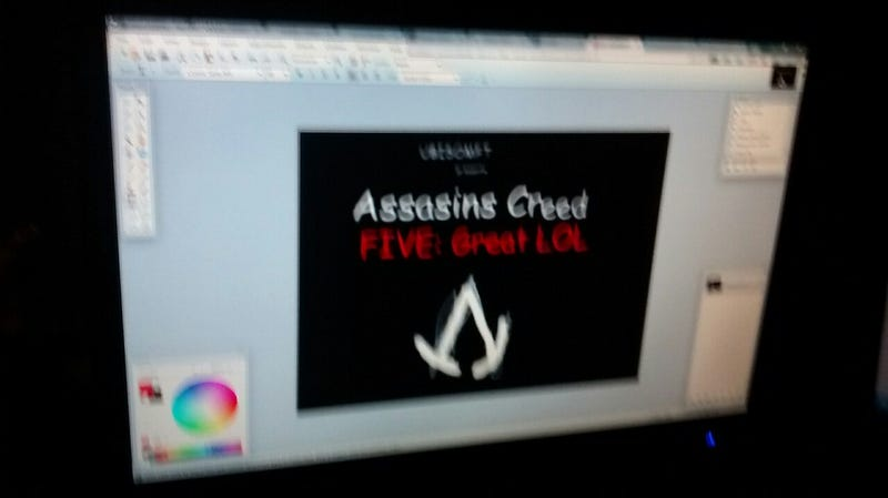 Illustration for article titled Assasins Creed FIVE: Great LOL Sounds Like an Amazing Game