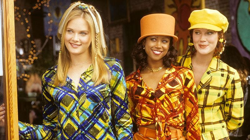 Rachel Blanchard, Stacey Dash, and Elisa Donovan in Clueless (Photo: ABC Archives/Getty Images)