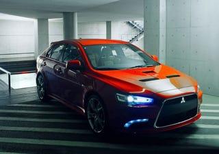 Illustration for article titled Mitsubishi Lancer Prototype-S Hits Web Ahead of Geneva