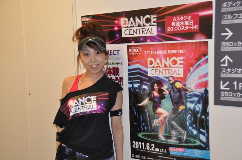 Illustration for article titled So Dance Central Is *the* Kinect Game (Even in Japan)