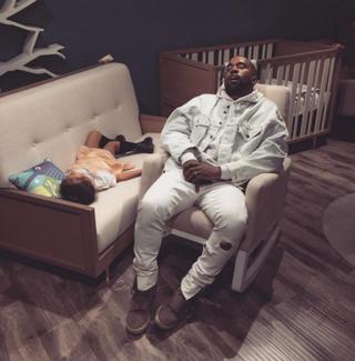 North West and Kanye WestInstagram