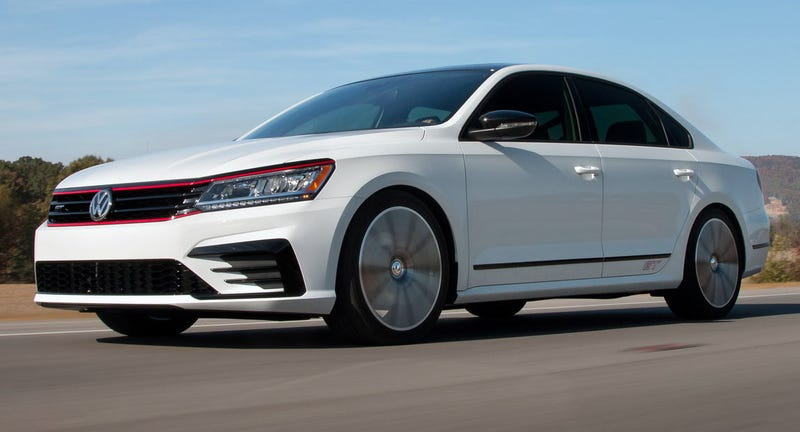 Illustration for article titled The Volkswagen Passat GT Concept Is Like The World's Fattest GTI