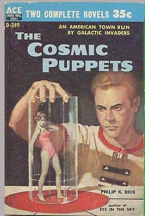 """Illustration for article titled The Evolution of Philip K. Dick's """"Cosmic Puppets"""""""