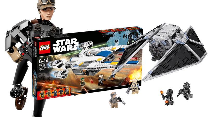 Illustration for article titled All The Rogue One Lego Star Wars Stuff Coming Out This Month