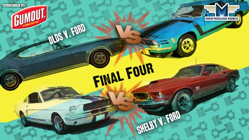 Illustration for article titled March Muscle Car Madness: The Final Four