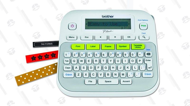 Brother P-touch Easy-to-Use Label Maker | $20 | Amazon