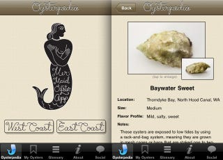 Illustration for article titled The Must Have Oyster Guide App for iPhone Users