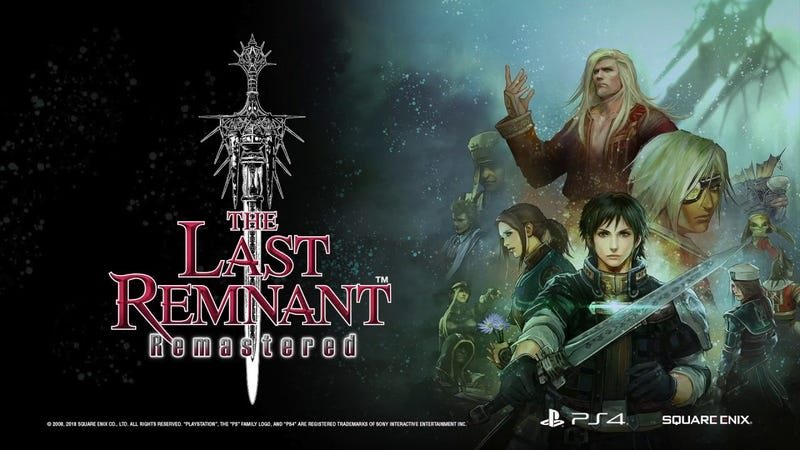 Illustration for article titled The Last Remnant Remastered A Game Finally Worth your Time