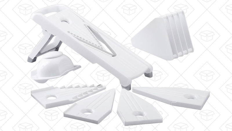 Mpow 5 Blades Mandoline Slicer | $10 | Amazon | Use code UDZTJNXR