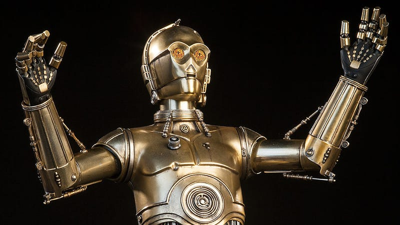 Illustration for article titled Sideshow's New C-3PO Figure Will Make You Lust For a Protocol Droid