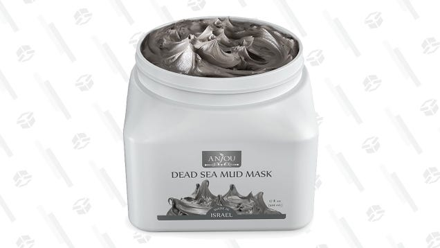 Have A Skincare Spa Day With Anjou Dead Sea Mud Mask