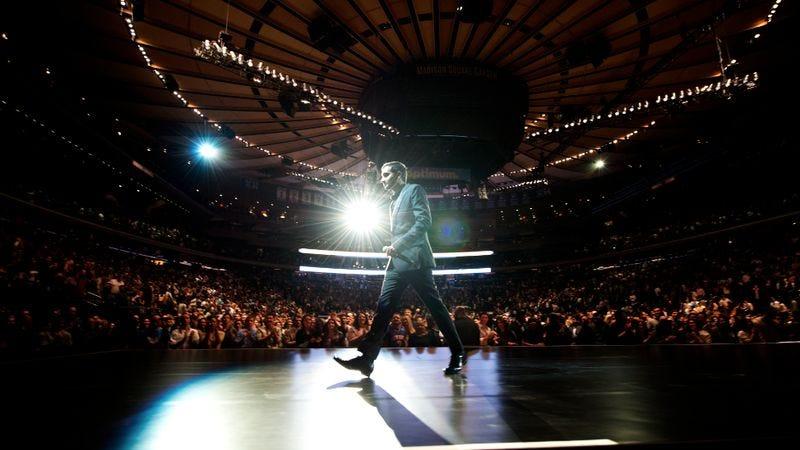 Aziz Ansari Gets Vulnerable In Live At Madison Square Garden