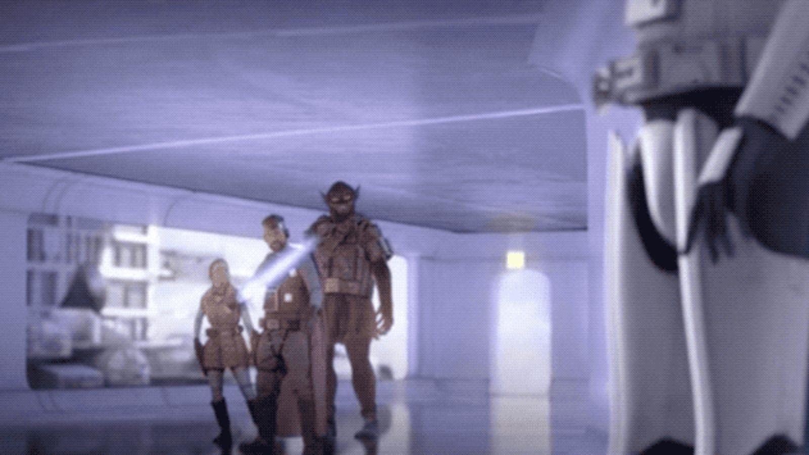 Stormtroopers con sables láser y Luke Skywalker era una chica: este tráiler hecho por fans muestra cómo iba a ser Star Wars