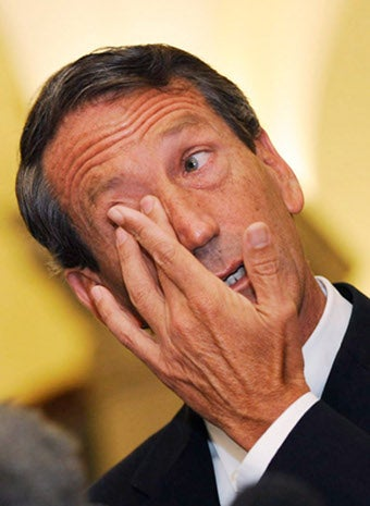 Illustration for article titled Mark Sanford: Jerk - But Principled Jerk