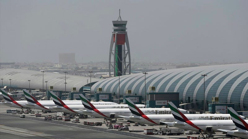 File photo of Dubai Airport from 2017