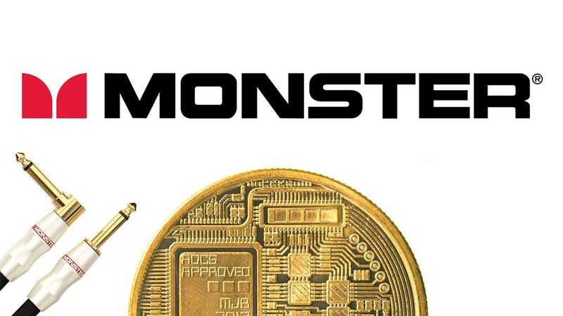 Illustration for article titled Monster Cable's Plan for Saving Its Failing Business Is a Cryptocoin Called 'Monster Money Tokens'