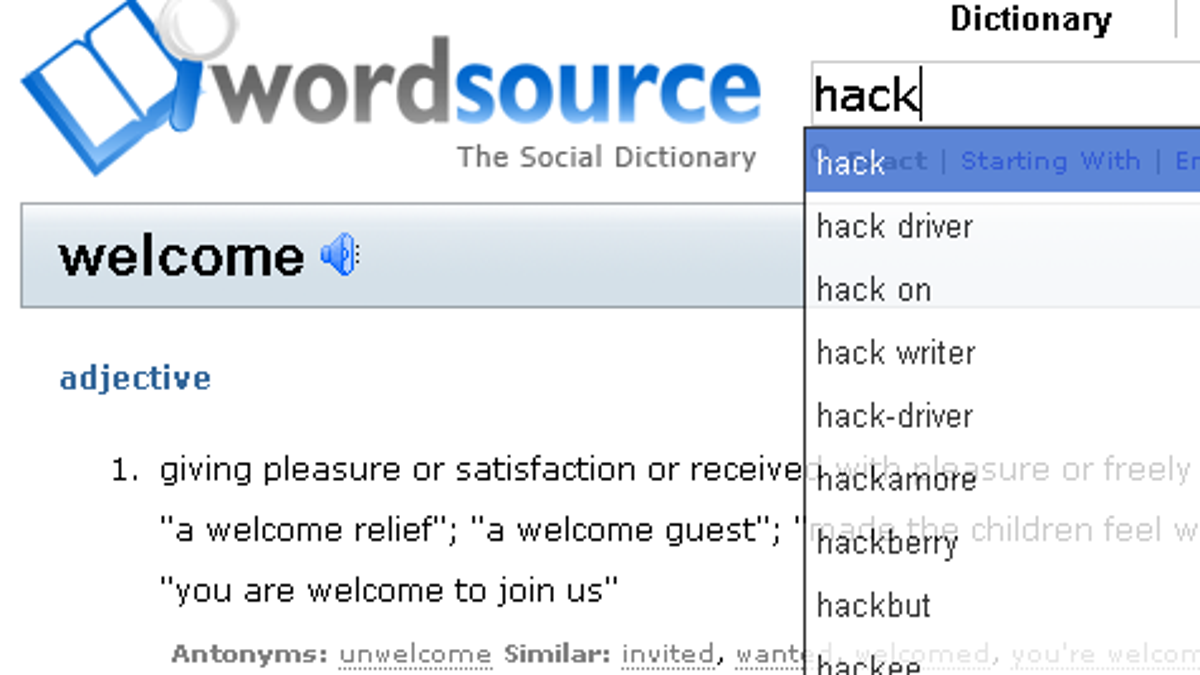 Find ad-free definitions and synonyms at Word Source