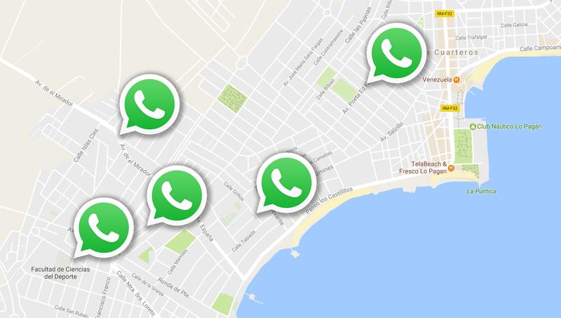 Illustration for article titled La próxima versión de WhatsApp localiza a tus contactos en tiempo real sobre un mapa, así funciona