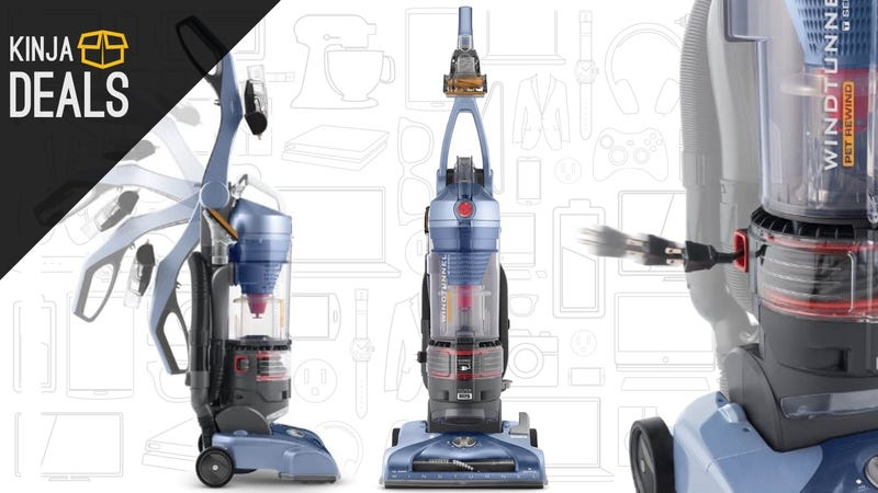 Illustration for article titled Upgrade To This Highly-Rated Hoover Vacuum For Just $75, Today Only