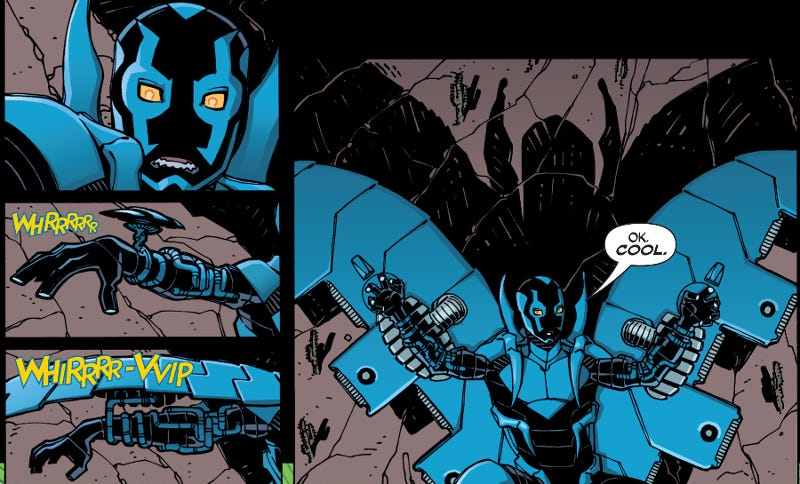 Illustration for article titled The Blue Beetle Series from 2006 is the Best Thing You've Probably Never Read
