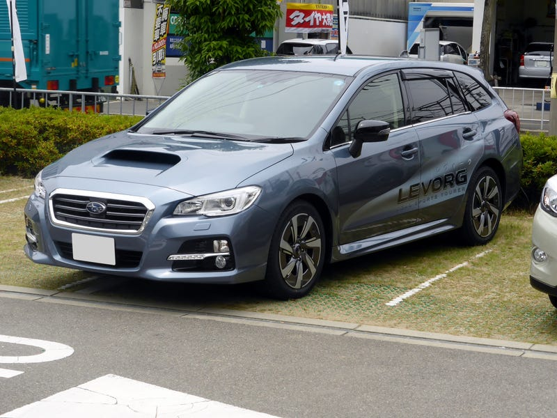 Subaru Levorg, a recent station wagon in Japanese Domestic Market.