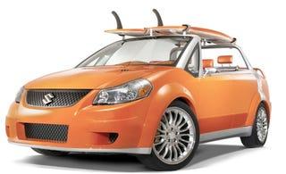 Illustration for article titled LA Auto Show: Suzuki SX4 Makai Concept