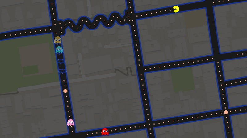 Illustration for article titled Now you can play the computer game Pac-Man in the real world, on your computer
