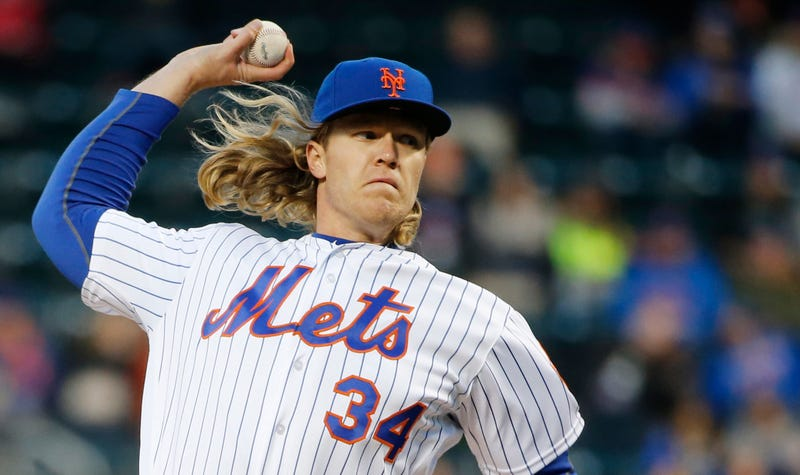 Illustration for article titled Noah Syndergaard Throws The Ball So Dang Hard