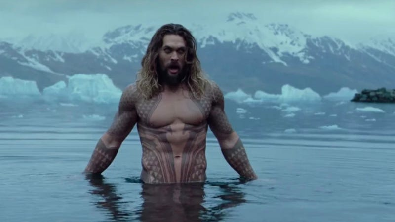 Jason Momoa As Aquaman In Justice League Photo Warner Bros