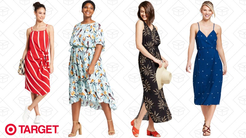 Buy one, get one 50% off dresses   Target