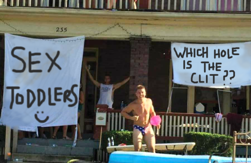 Illustration for article titled Why Smutty Frat Banners Are a Blessing to Women
