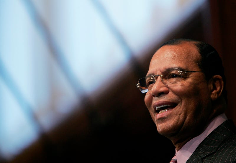 Minister Louis Farrakhan (Getty Images)
