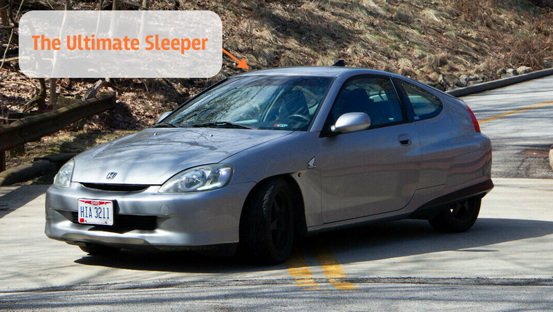 Some Genius Swapped a Honda Civic Si Motor Into a 220,000