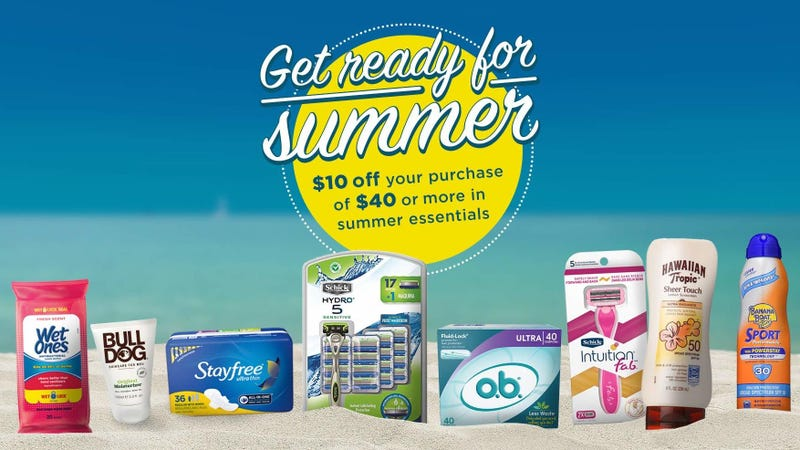 $10 off $40 In Summer Essentials | Amazon