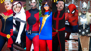 Illustration for article titled Marvel's September Comics Are Covered With Awesome Cosplayers