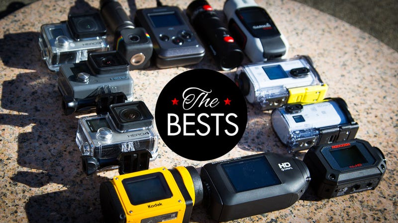 Illustration for article titled The Best Action Camera For Every Need