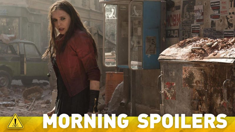 Illustration for article titled The Surprising Motivation That Drives Scarlet Witch In Avengers 2