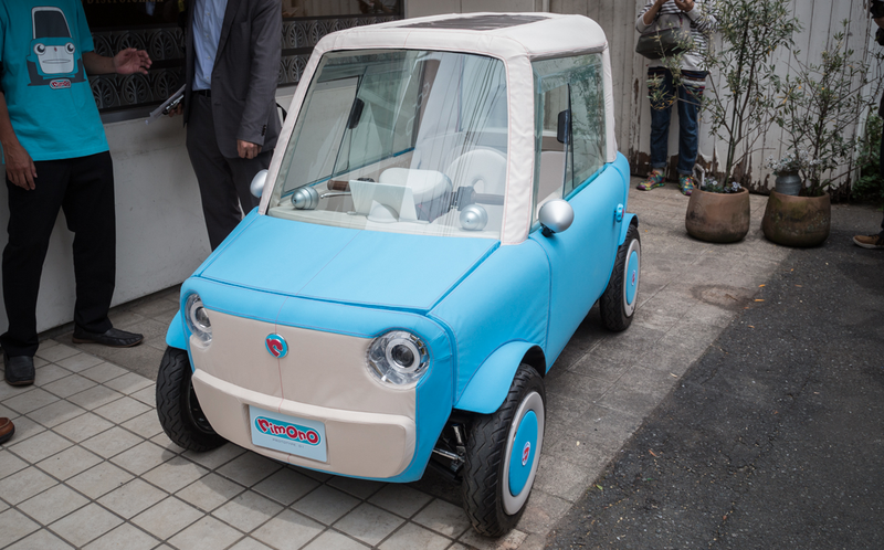 Japan S Newest Ev Is A Plush Toy Car You Can Actually Drive