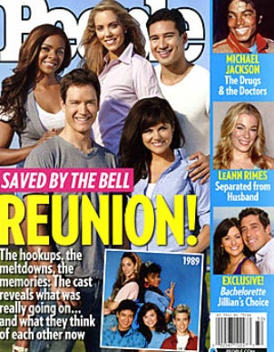 Illustration for article titled Saved By The Bell Stars Screw Jimmy Fallon For People Magazine