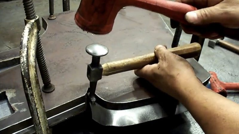 Flat Fender Jeep >> Watch This Guy Make Beautiful Willys Jeep Body Panels From ...