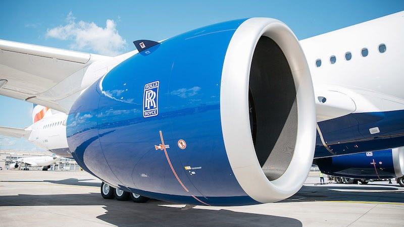 Por qué nunca pintan los motores de los aviones